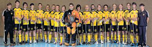 Mannschaftsfoto UHC Döbeln 06