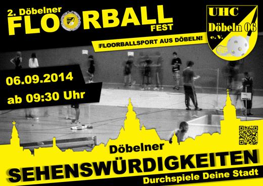 2. Floorballfest - FLYER